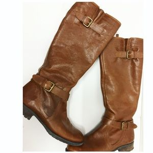 Franco Sarto | Pammy Tall Knee High Brown Boots